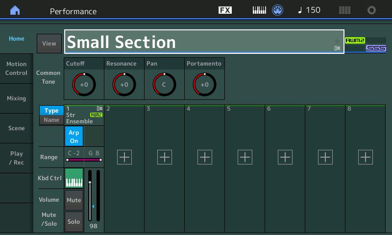 Yamaha MODX: Creating a split | Sand, software and sound